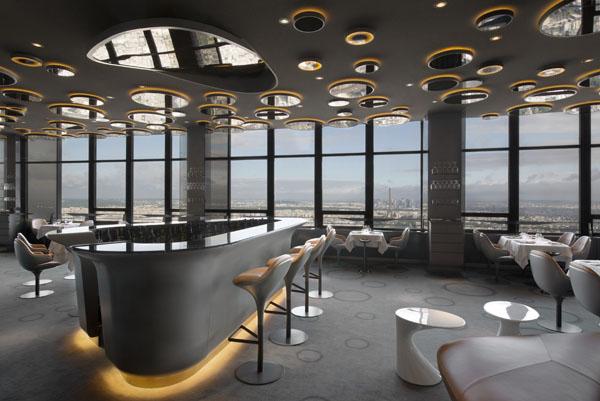 """duende PR  Restaurant """"Ciel de Paris"""" par Noé Duchaufour ..."""