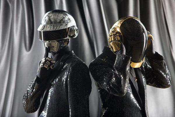 Thomas Bangalter and Guy-Manuel de Homem-Christo