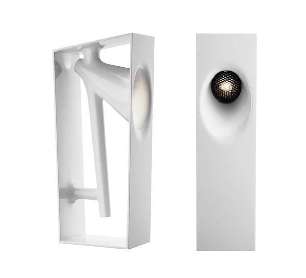 K RAI lamp for Flos design eugeni quitllet signed with Starck 02