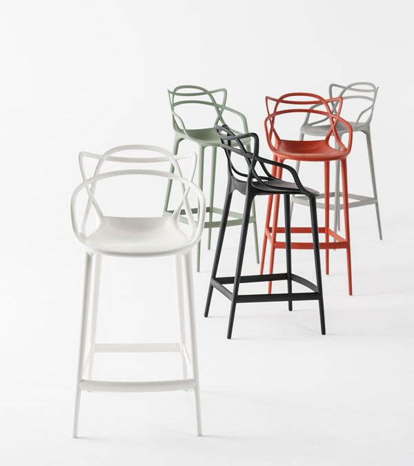 MASTERS OK stool  for Kartelldesign eugeni quitllet co signed with Starck 04