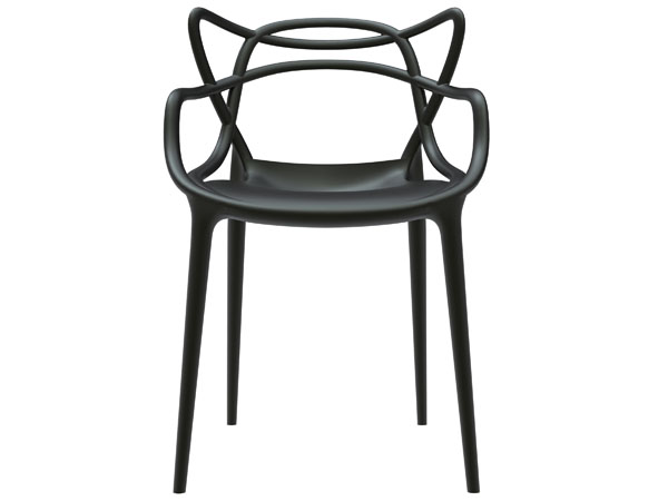 MASTERS chair for Kartell design eugeni quitllet  signed with Starck