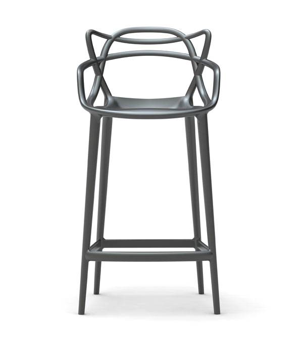 MASTERS stool  for Kartelldesign eugeni quitllet co signed with Starck 03