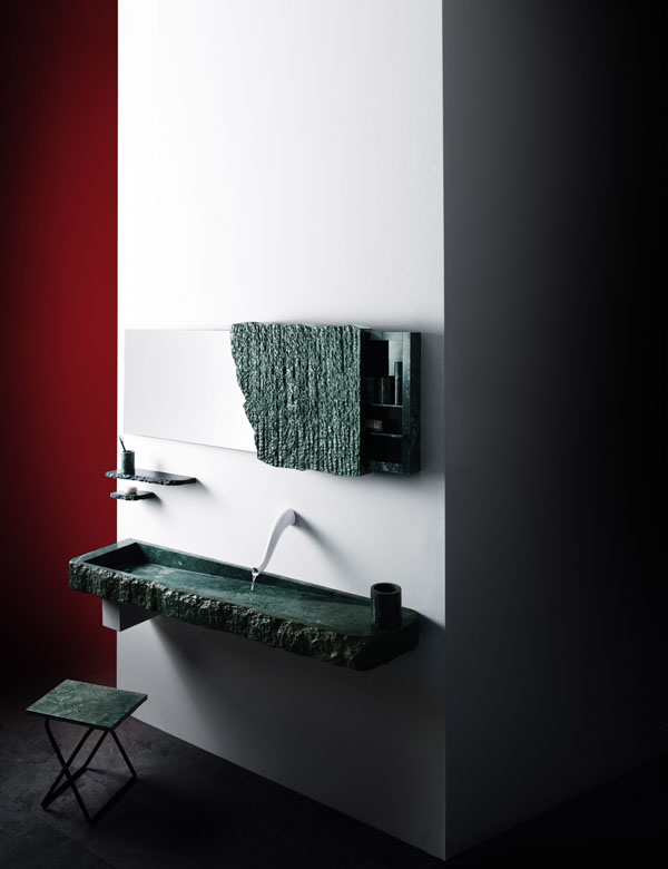 'Jungle Wash' bathroom by Jose Levy and Up Group