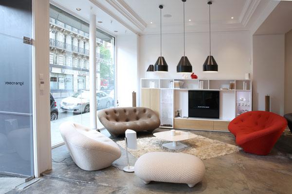 duende pr c est ouvert le dimanche chez ligne roset r aumur. Black Bedroom Furniture Sets. Home Design Ideas
