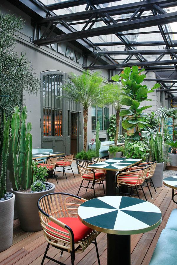 Duende pr klay restaurant and terrace by charlotte biltgen for Cafe du jardin restaurant covent garden