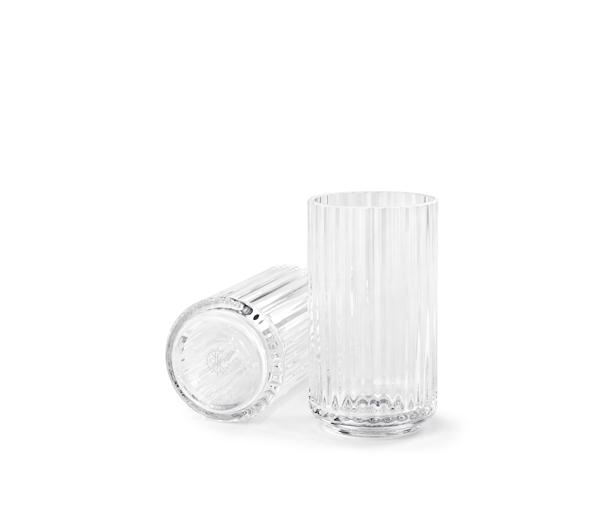 Lyngbyvasen glas 12cm clear