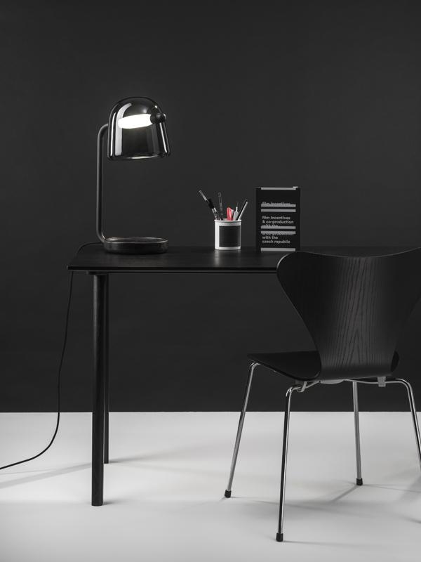 Mona table lamp black Brokis_Lucie Koldova 2014