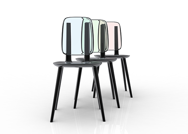 TABU chair by eugeni Quitllet with Alias 6
