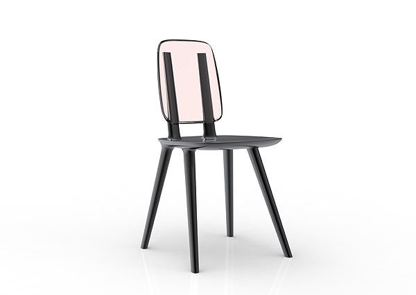 TABU chair by eugeni Quitllet with Alias 7
