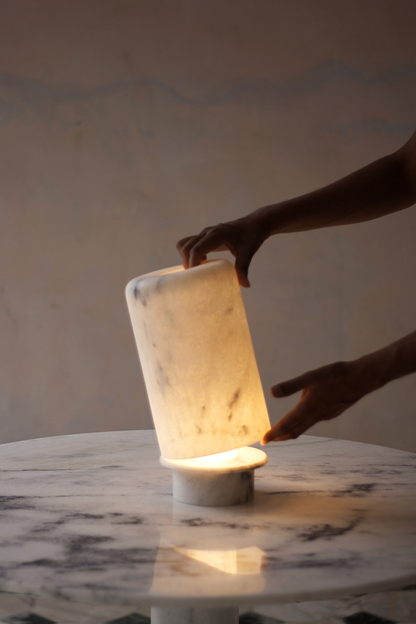Foxfire Lamp Tall by Studio Raw Material