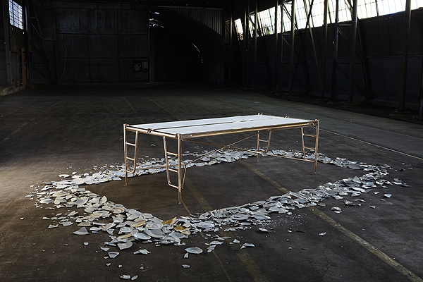 Scaffold table Eddy Sykes