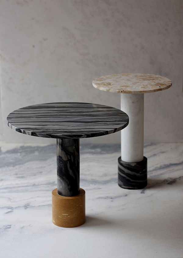 Strat + Terra table by Raw Material