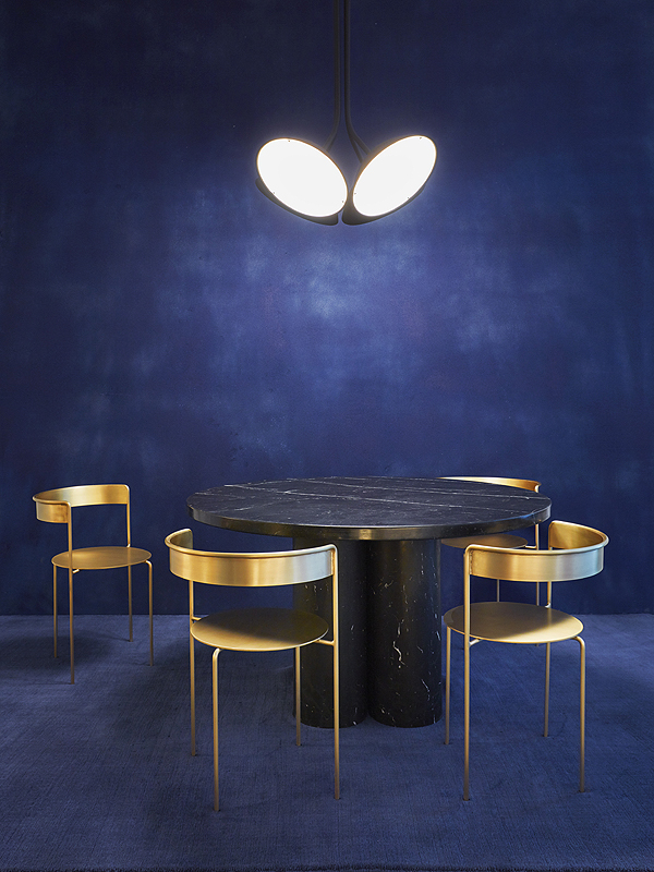 Matter Made - Landscape 4 Pendant Ligh - Slon Dining Table - Avoa Chairs