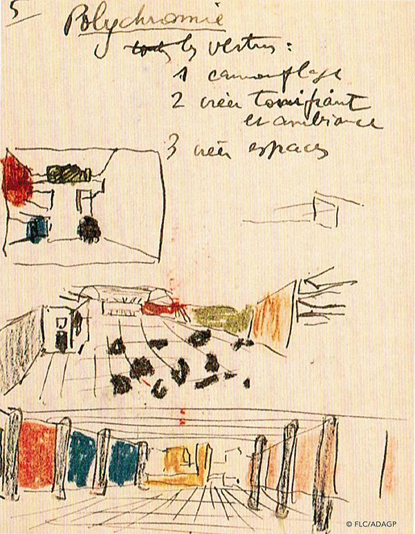 polychromie Le Corbusier