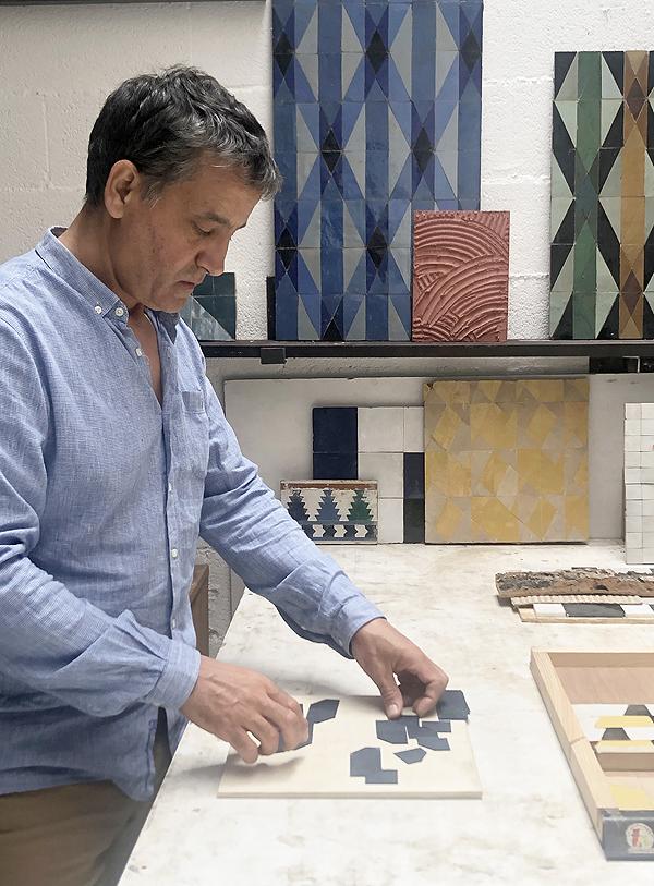Portrait Samir Atelier