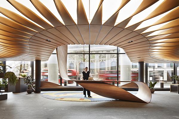 Pierre Renart - 22 Bishopsgate - High Table, view 5 (c) Jack Hobhouse